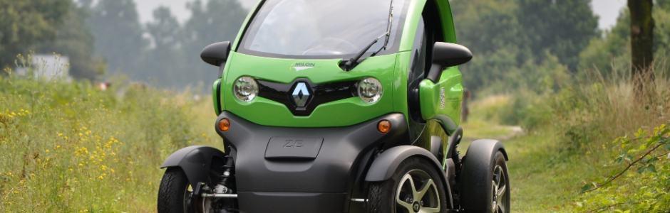 MILON rijdt dubbel groen met elektrische Renault Twizy