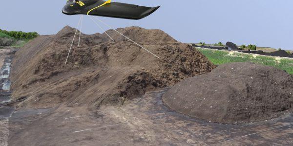 Snelle Voorraadopname Met Drone